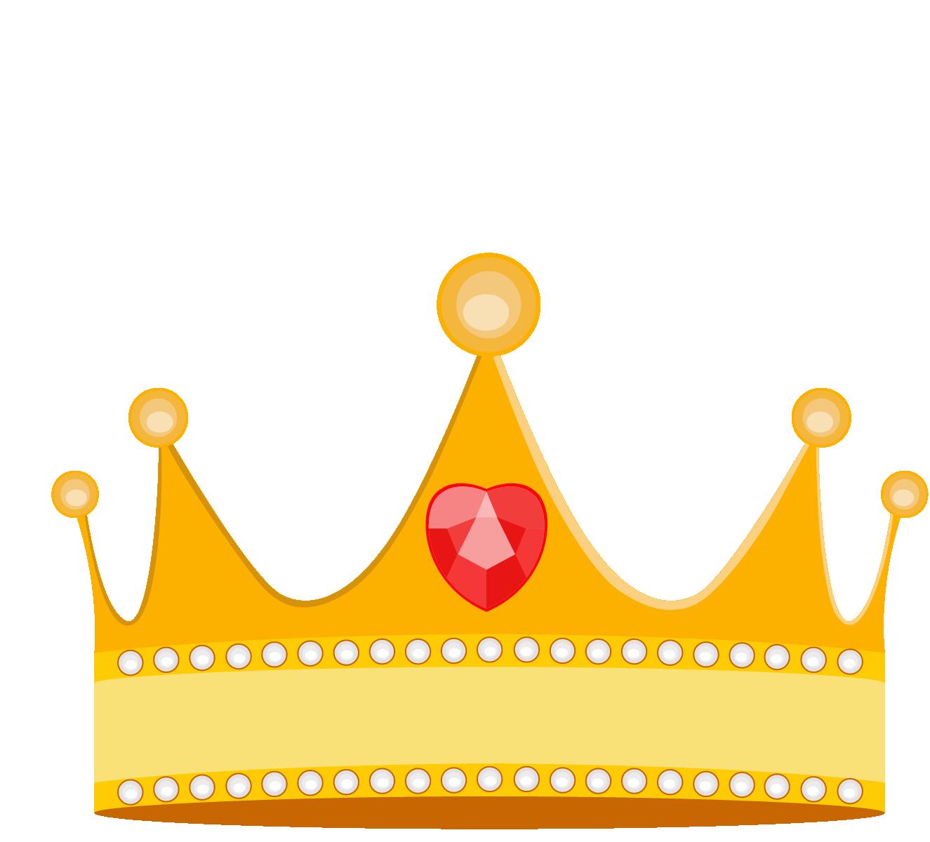 Princess crown vector png. Cartoon material transprent free
