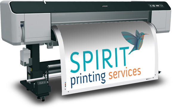 Printing png files. Large format spirit services