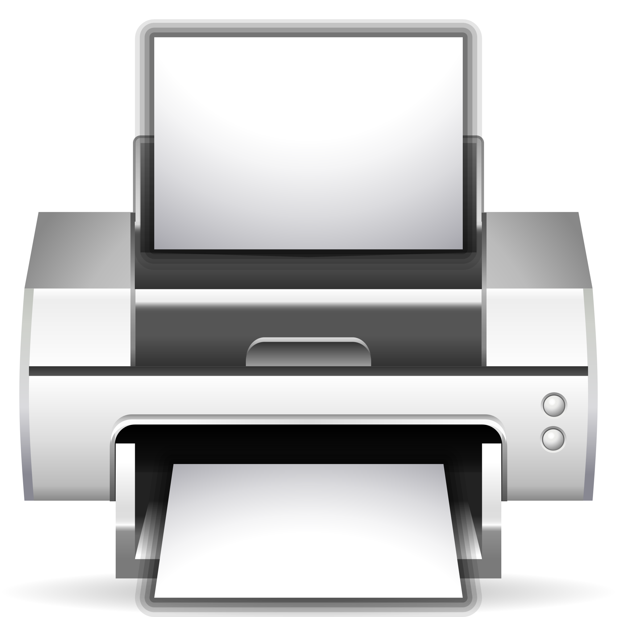 Printing png files. File oxygen actions document