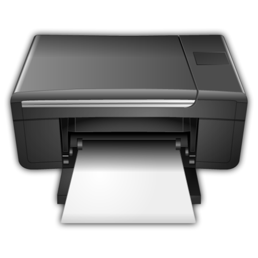 Printing png files. File related to printer