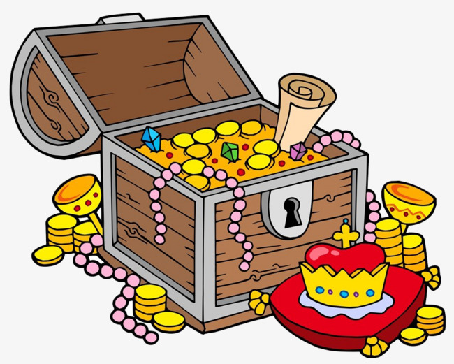 Prize clipart. Open the box gift