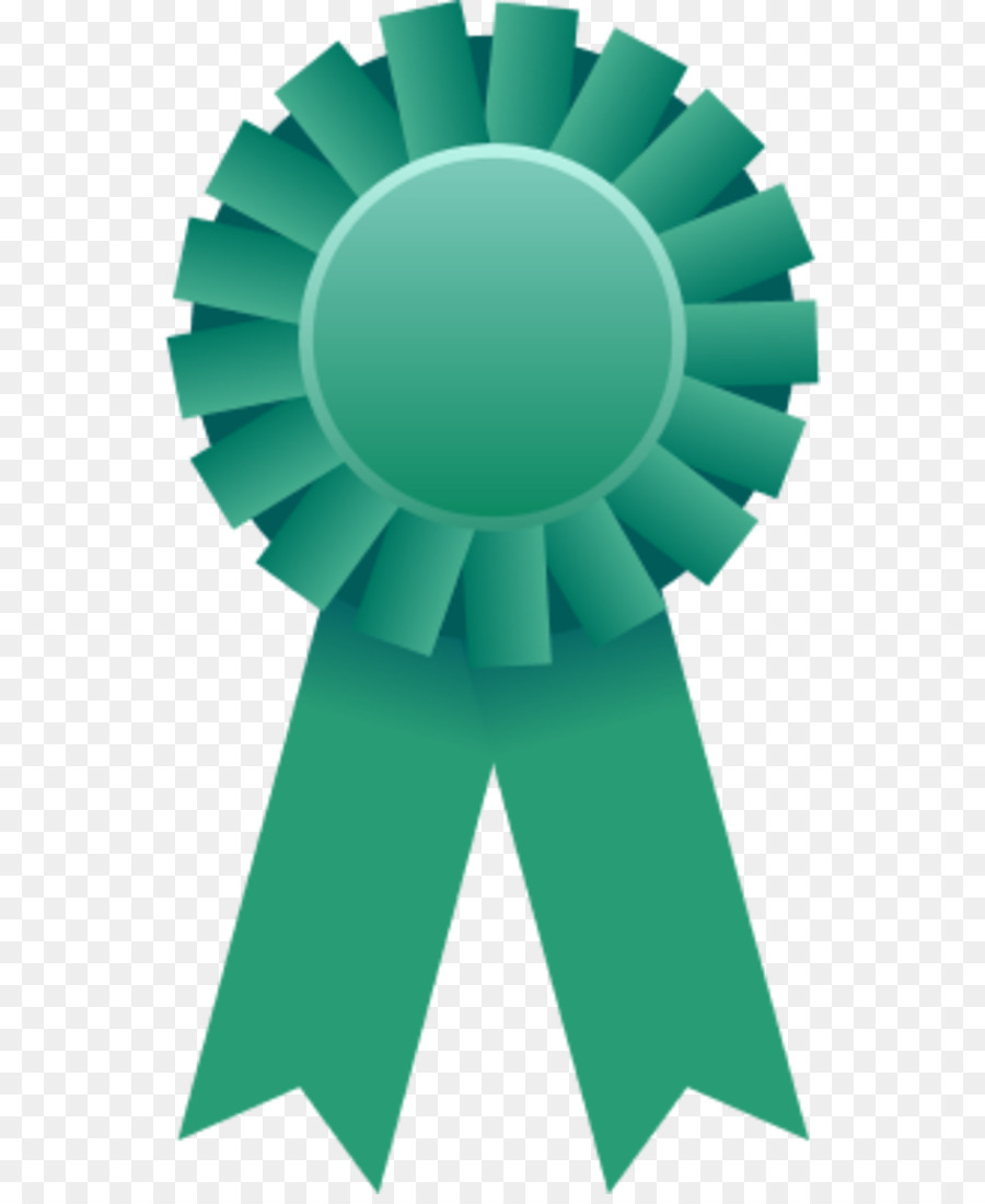 Prize clipart award ribbon. Green background