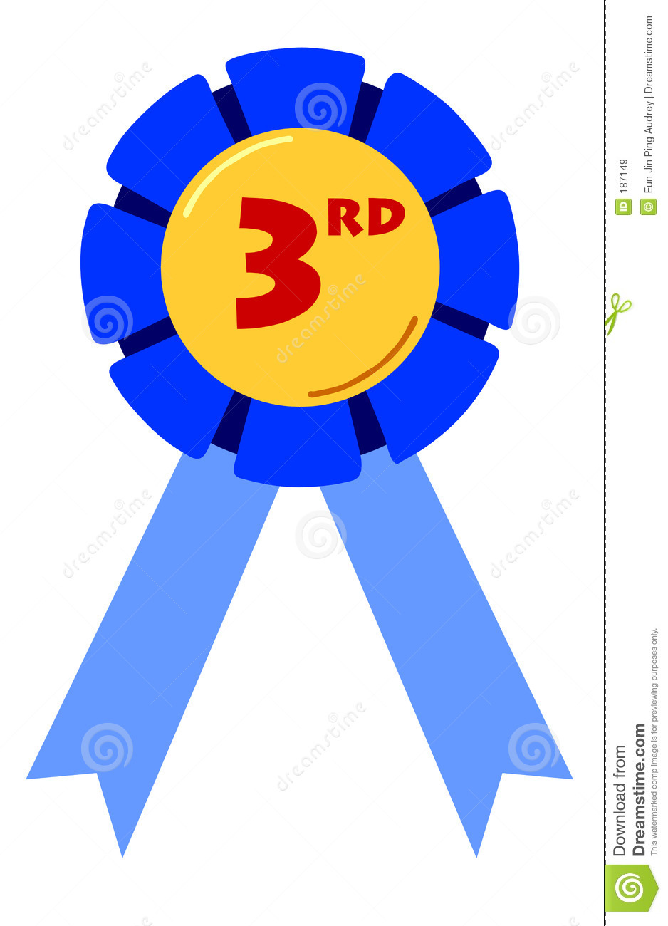 Place ribbon free download. Prize clipart first position