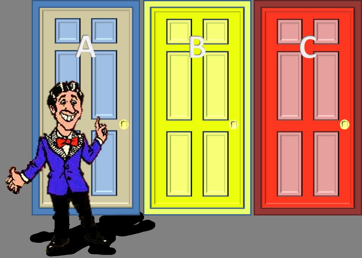 Conditional probability three standard. Win clipart double door