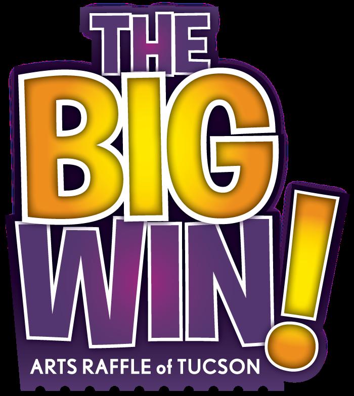 The big arts raffle. Win clipart double door