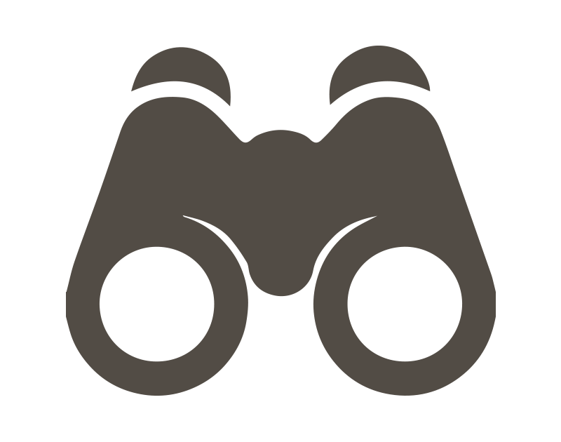 Account manager client side. Vision clipart binoculars