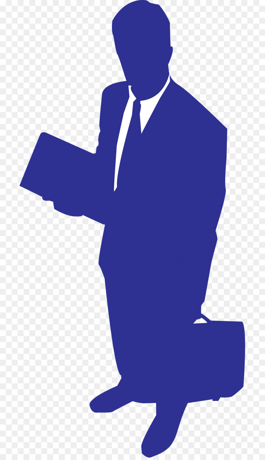 Standing . Professional clipart business man