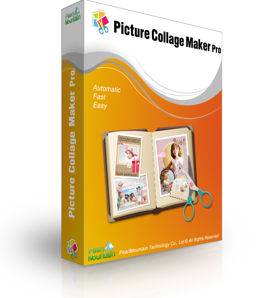 Picture maker pro build. Professional clipart collage
