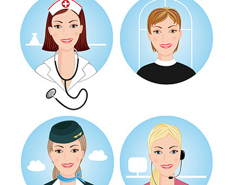 Professional clipart different profession. Free professions cliparts download