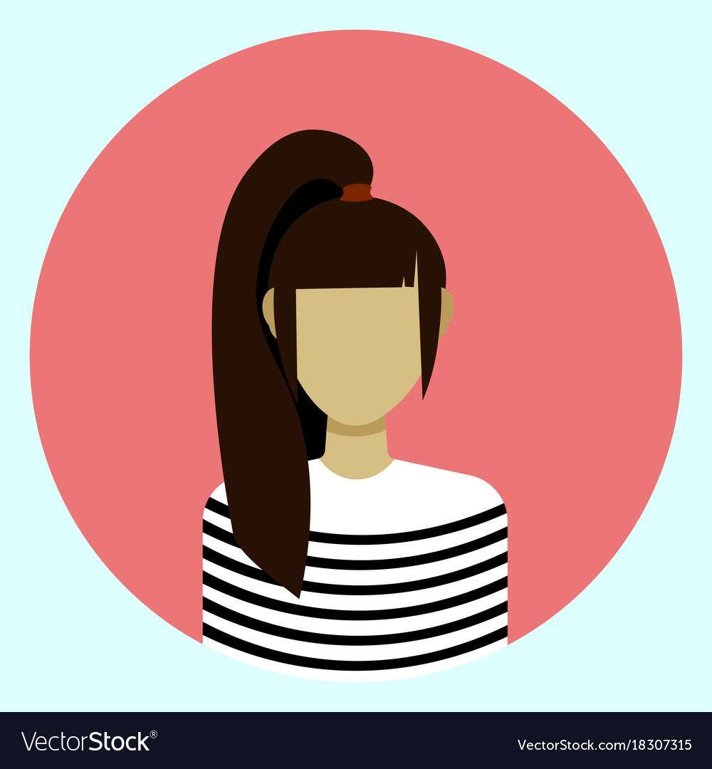 X free . Professional clipart female avatar