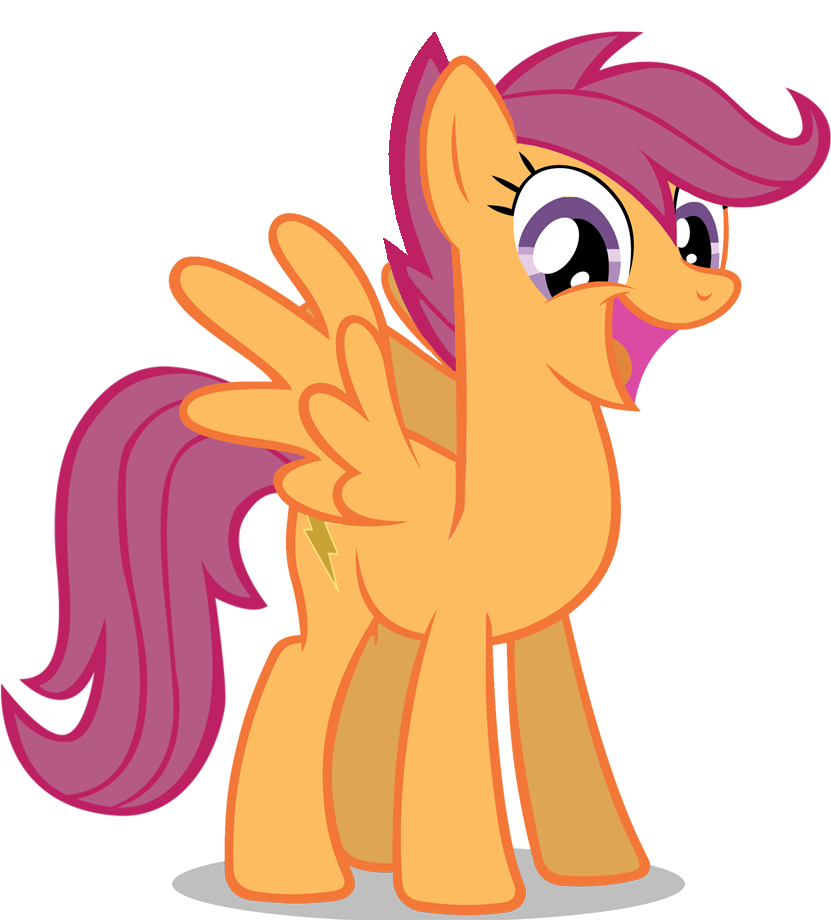 Scootaloo all by dlazerous. Professional clipart grown up