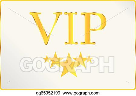 Vector stock very card. Professional clipart important person