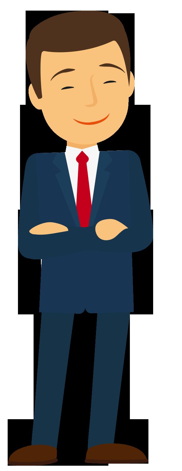 Professional clipart male professional. Illustration smiling man transprent
