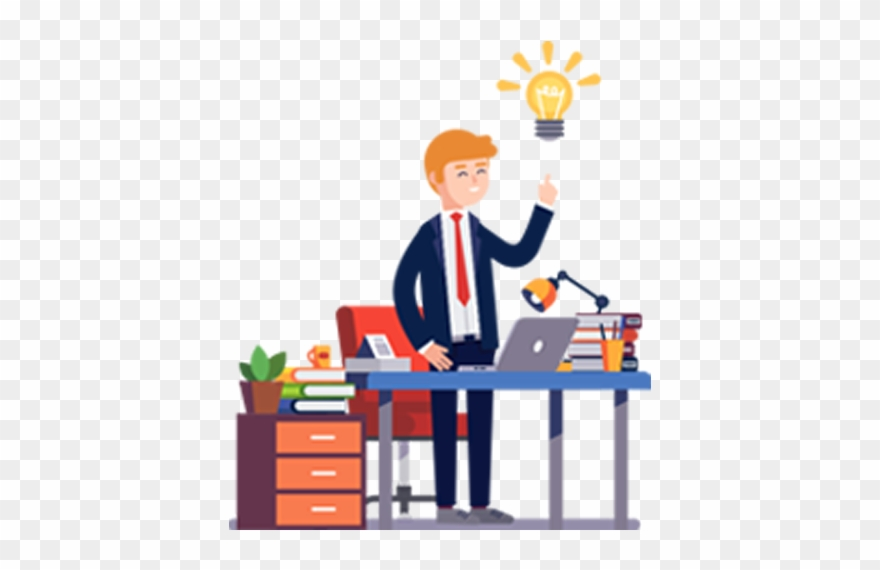 Professional clipart work clipart. Budding entrepreneurs working professionals