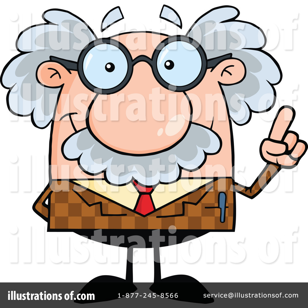 Professor clipart. Illustration by hit toon