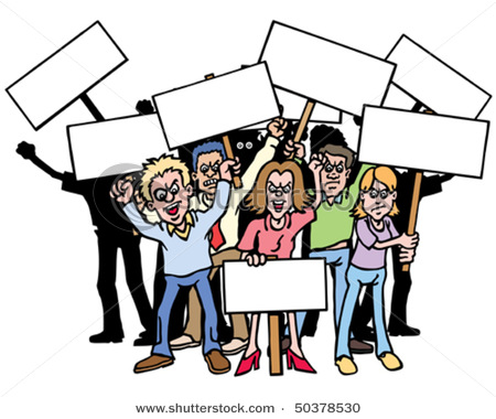 Protest clipart. Panda free images info