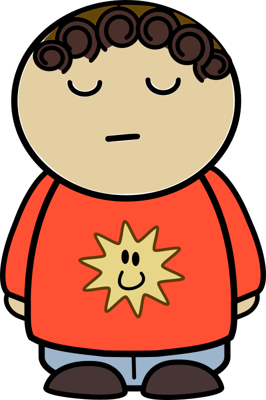 Proud clipart boy. Mix and match character