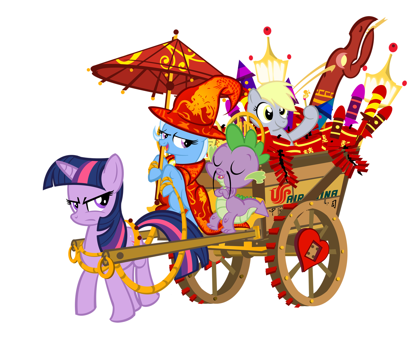 The great and powerful. Proud clipart braggart