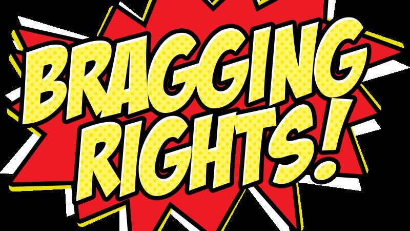 Proud clipart braggart. Bragging independent starburst media
