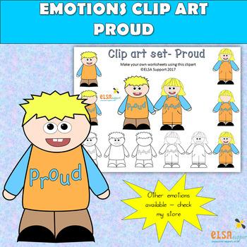 Emotions clip art . Proud clipart different emotion
