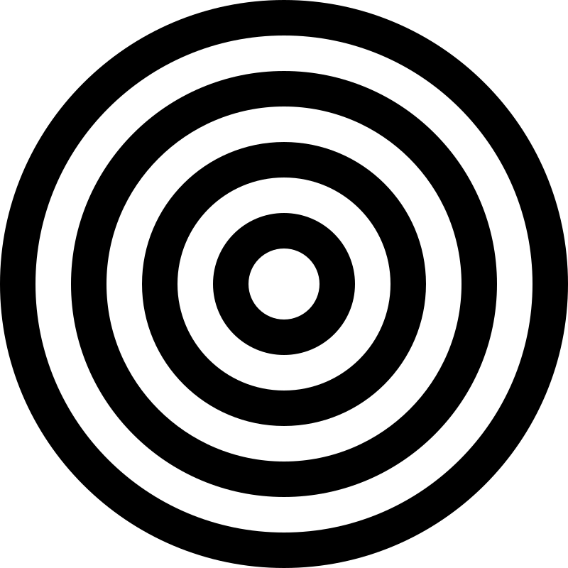 Drew china cps wikiclipart. Bullseye clipart black and white