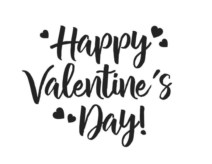 Happy valentine s day. Proud clipart glad