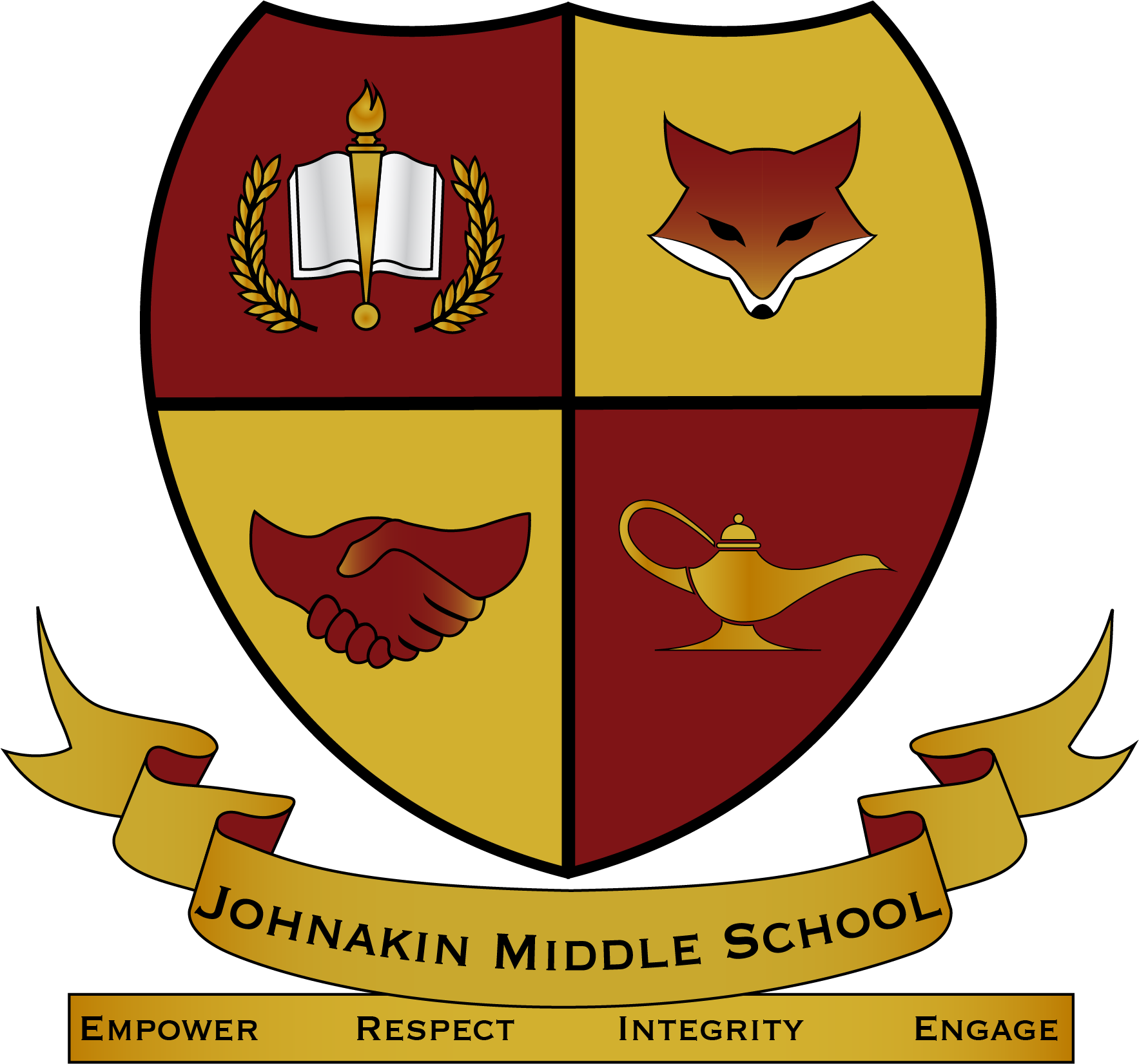 Johnakin middle school homepage. Proud clipart k12