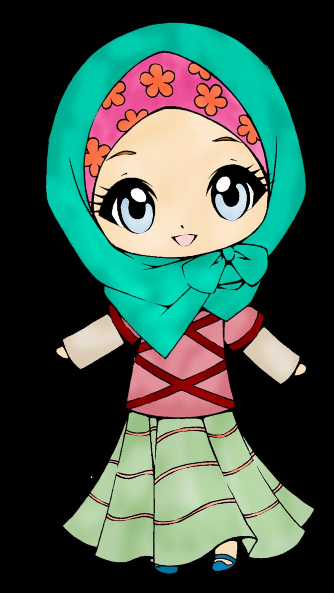 Cutie hijab by rafaytausif. Proud clipart proud girl