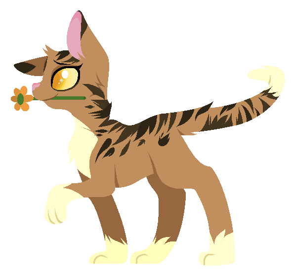 Leafpool the medicine cat. Proud clipart prowess