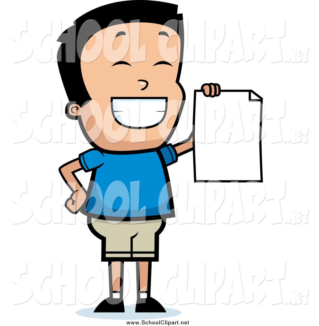 Clip art of a. Proud clipart report card