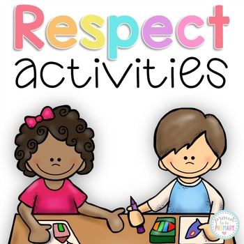 Activity pack . Respect clipart character education