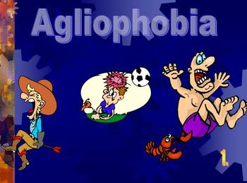 Middle school phobias lesson. Psychology clipart activity