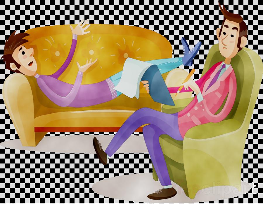 Education background cartoon . Psychology clipart animated