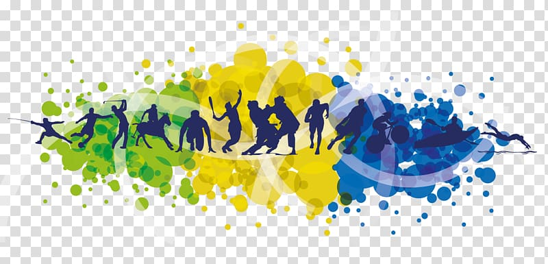 Psychology clipart artistic. Multicolored sports themed association