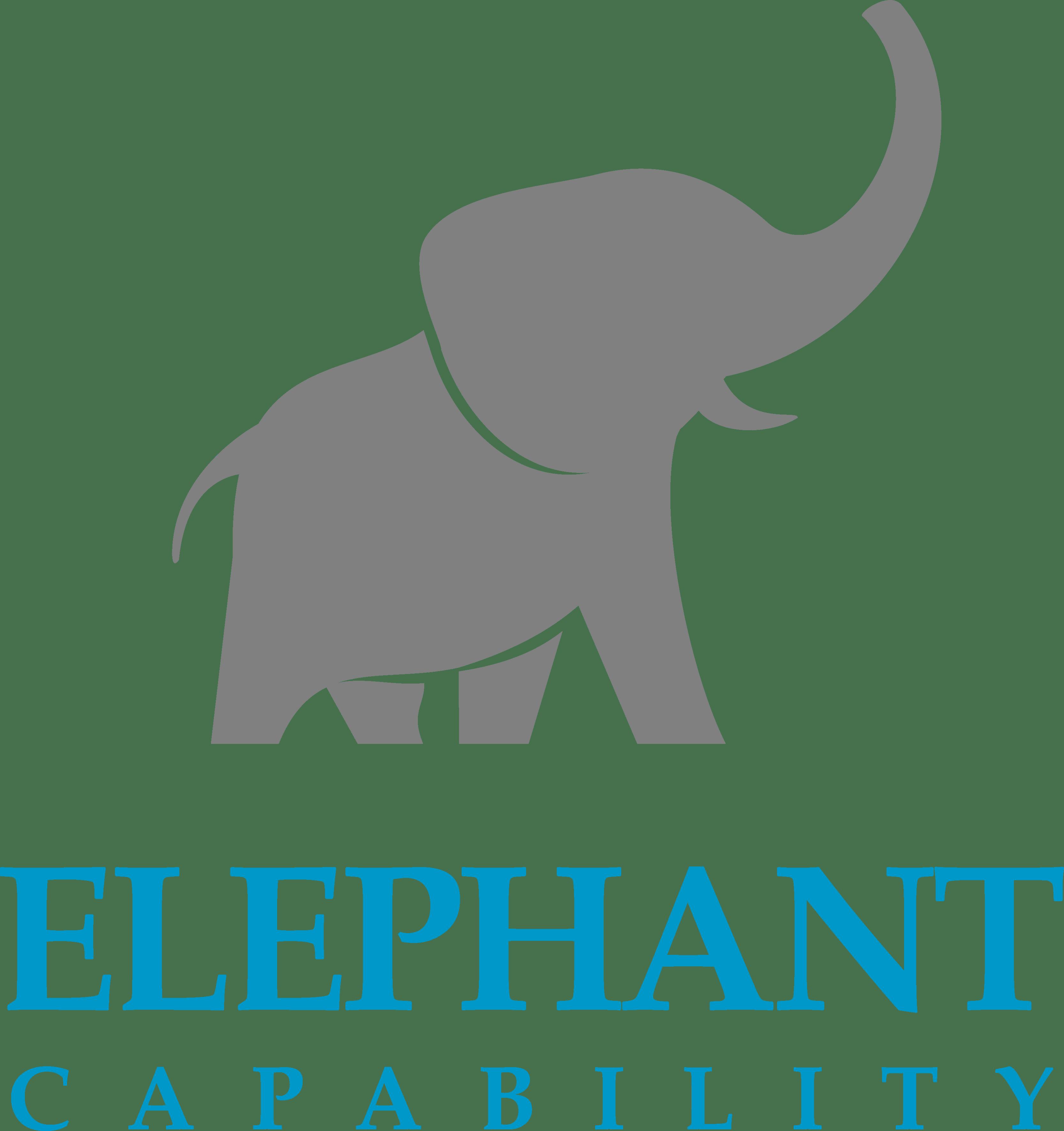 The elephant story. Psychology clipart capability