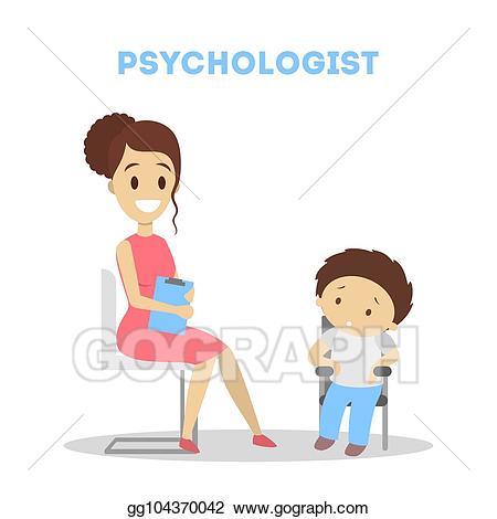 Clip art vector child. Psychology clipart counsel