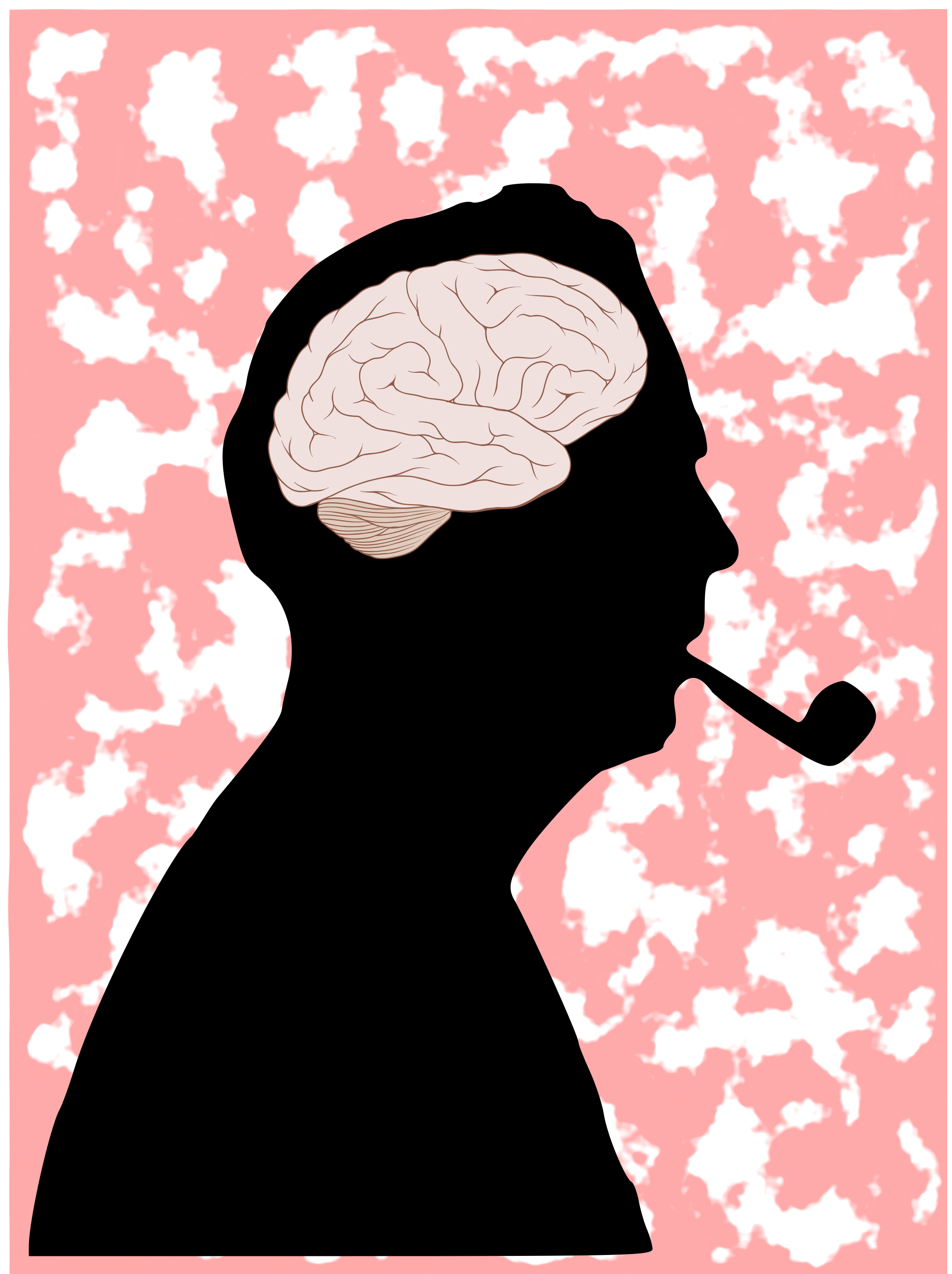 Psychology clipart gear brain. File mr pipo svg