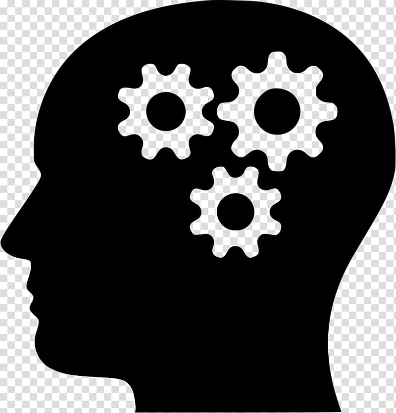 Psychology clipart gear brain. Computer icons human head