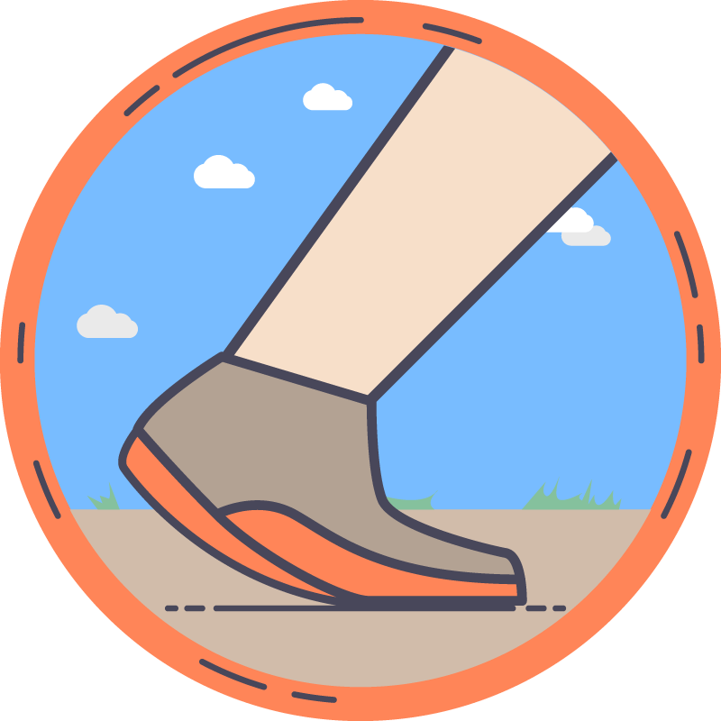 Psychology clipart positivity. Walk the most steps
