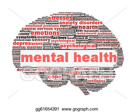 Psychology clipart psychological trauma. Stock illustrations mental health