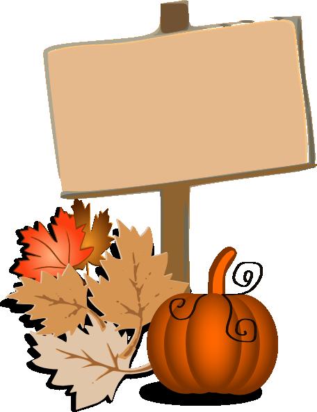 Pumpkin border png. Wood sign halloween clip