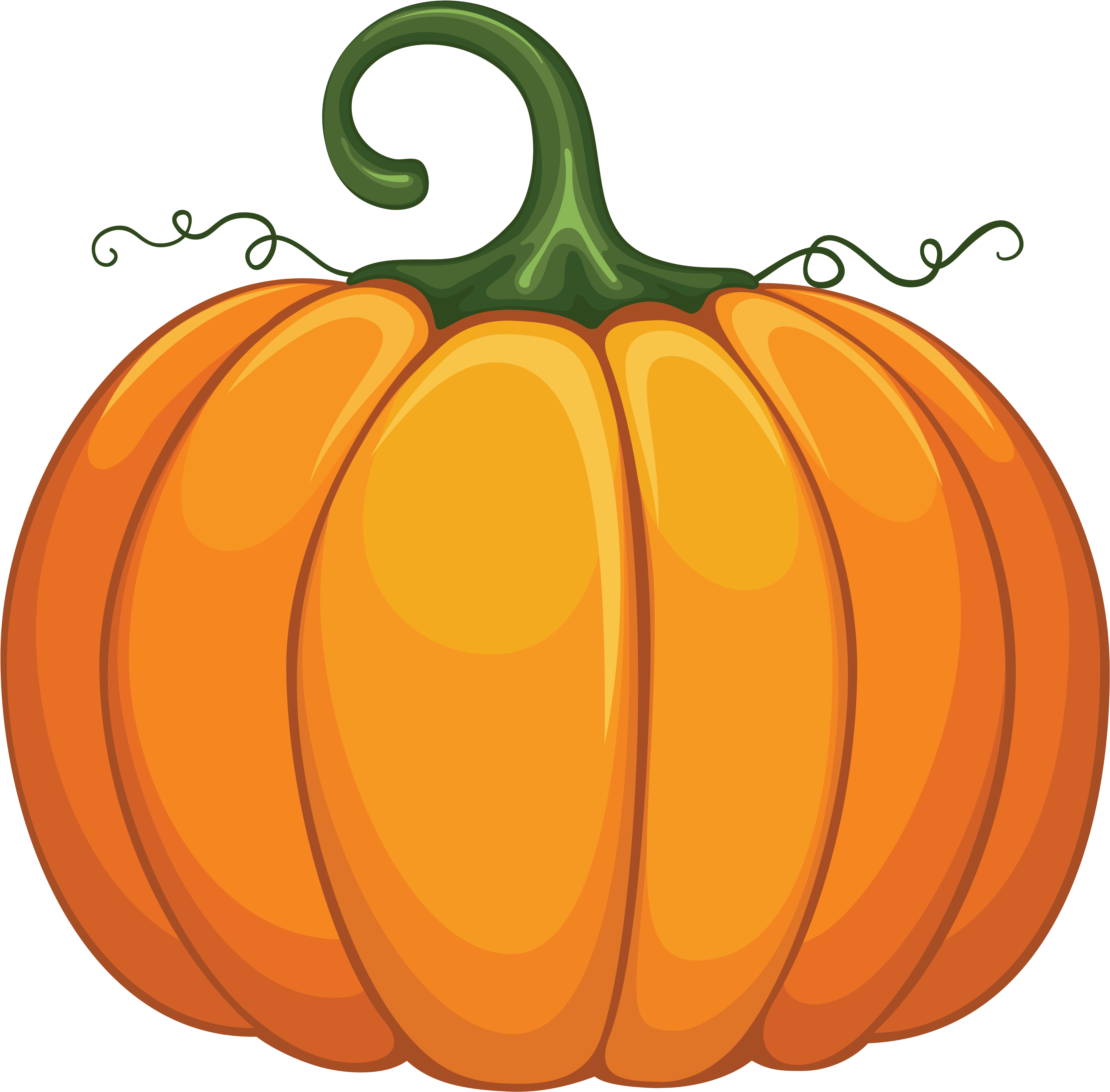 clipart pumpkin transparent background
