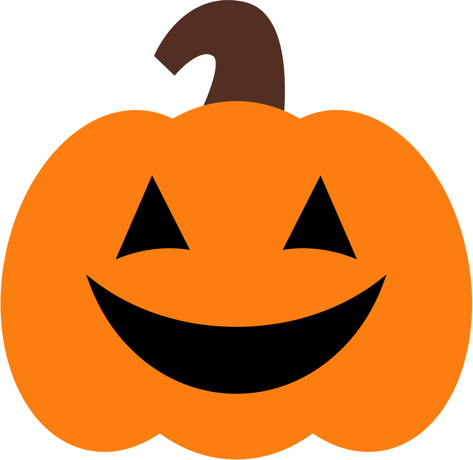 Pumpkin clipart. Cute halloween cyberuse pictures