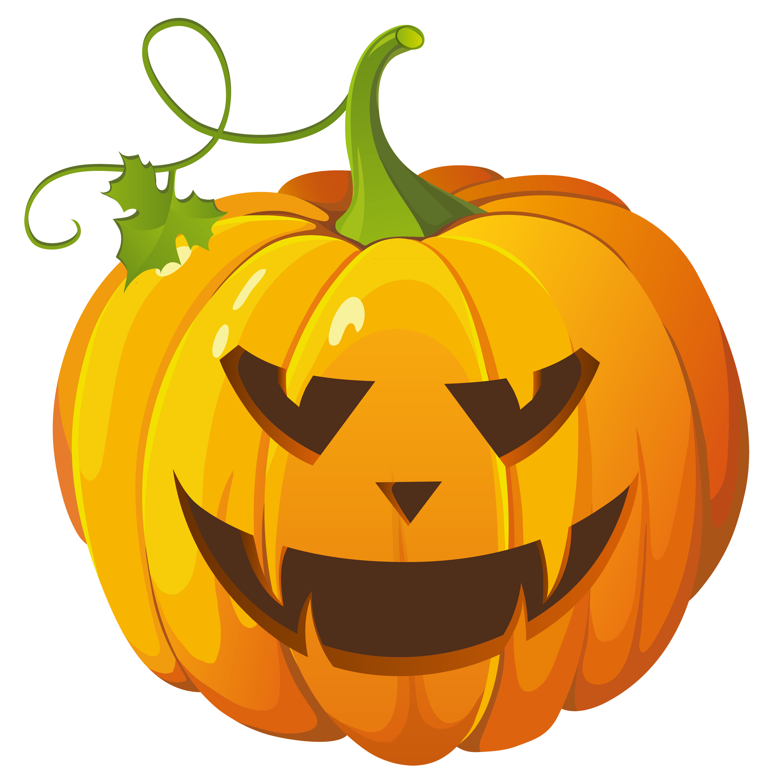 Large transparent halloween gallery. Clipart pumpkin