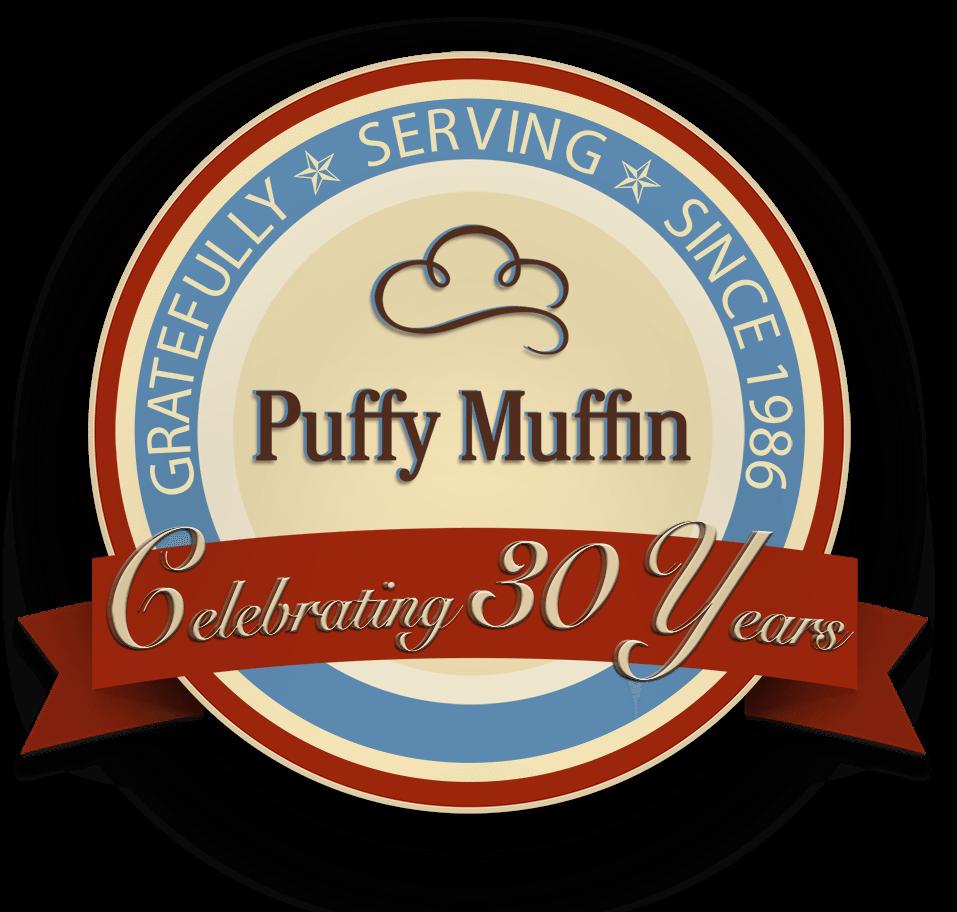 Bakery restaurant puffy muffin. Pumpkin clipart birthday cake