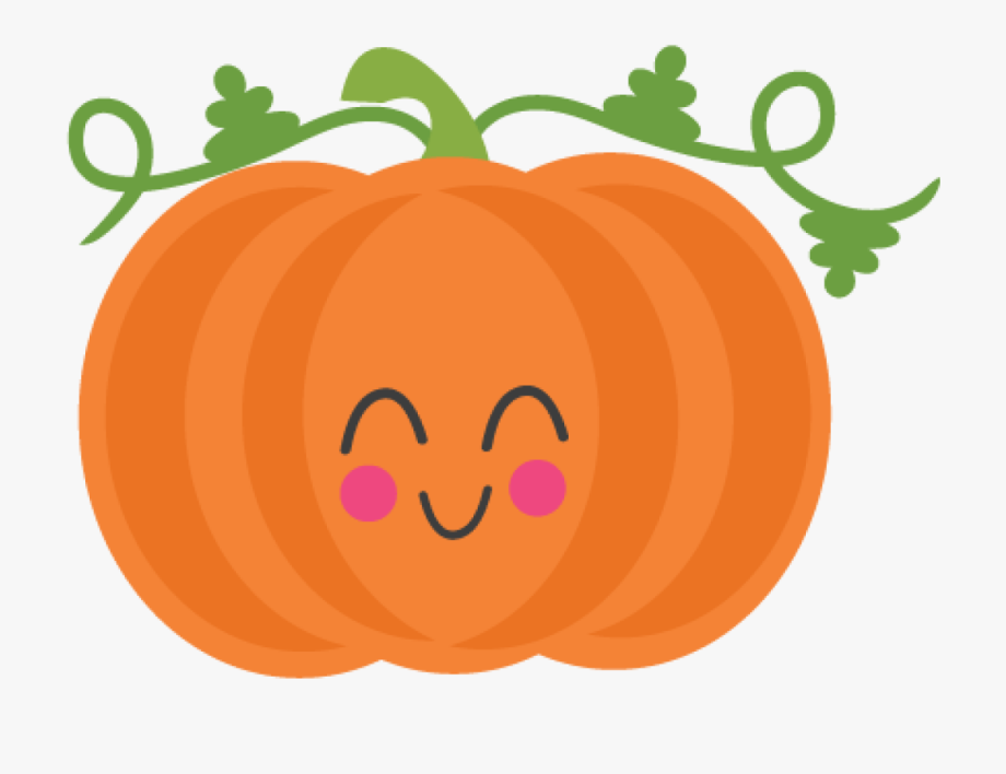 Pumpkin clipart cartoon. Free cute clip art