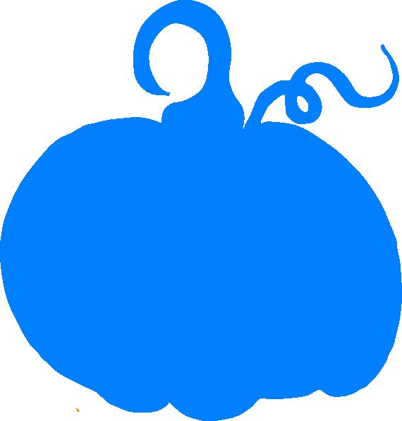 Blue . Pumpkin clipart day