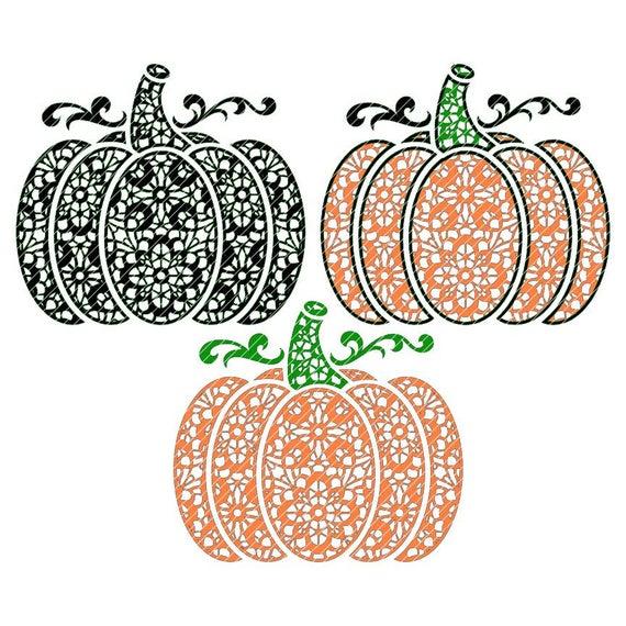 Lace zen variations fall. Pumpkin clipart fancy