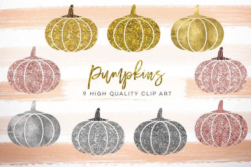 Pumpkin clipart gold glitter. Clip art rose silver