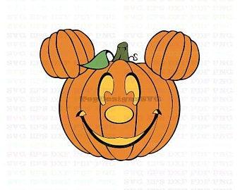 Pumpkin clipart mickey. Svg etsy